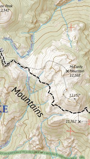 Lost Creek Wilderness Map Crop 2