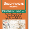 Cover of Uncompahgre Wilderness Hiking Map