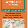 Cover of Weminuche Wilderness EAST Hiking Map