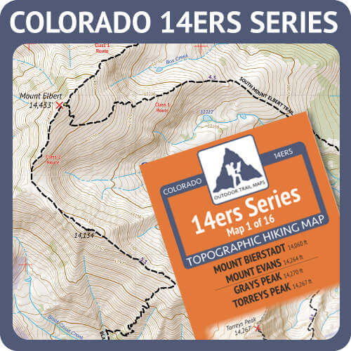 Colorado 14ers Series Product Button