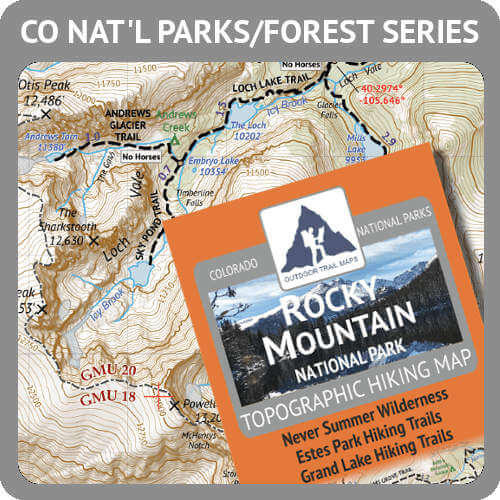 Colorado National Parks / National Forest Product Button