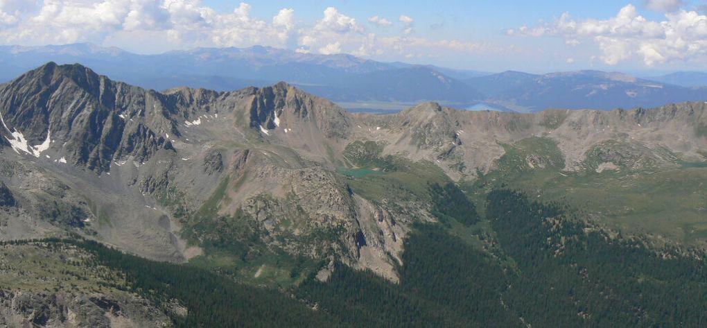 Collegiate Peaks Wilderness - West Apostle Peak from Huron Peak