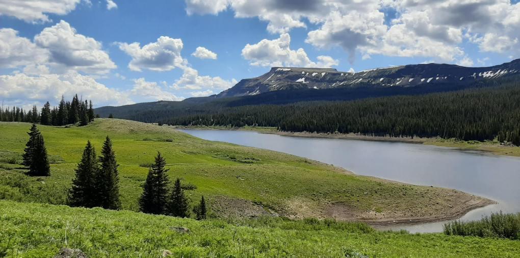 Flat Tops Wilderness Flat Top Mountain