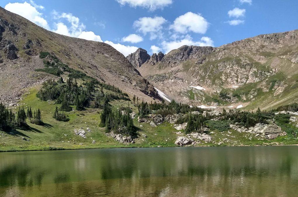 James Peak Wilderness Rogers Peak Lake