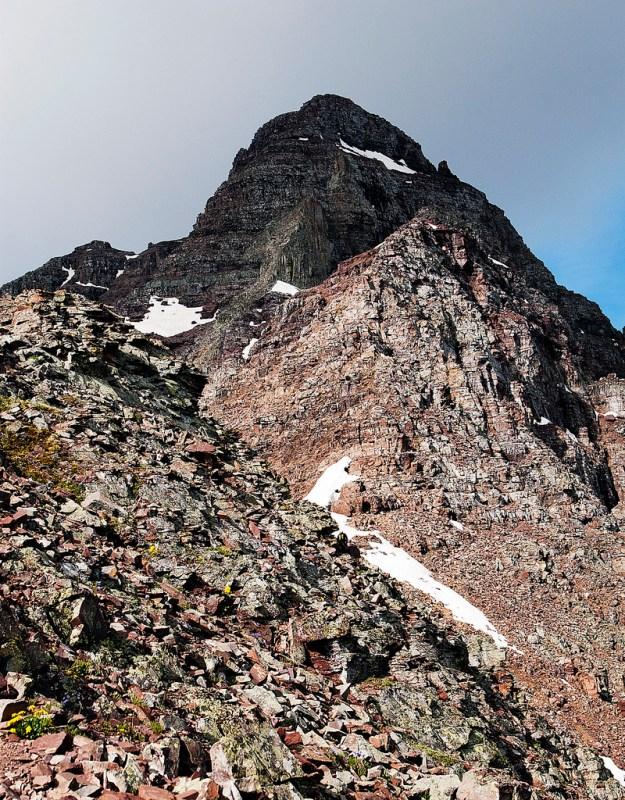 Summit of Pyramid Peak