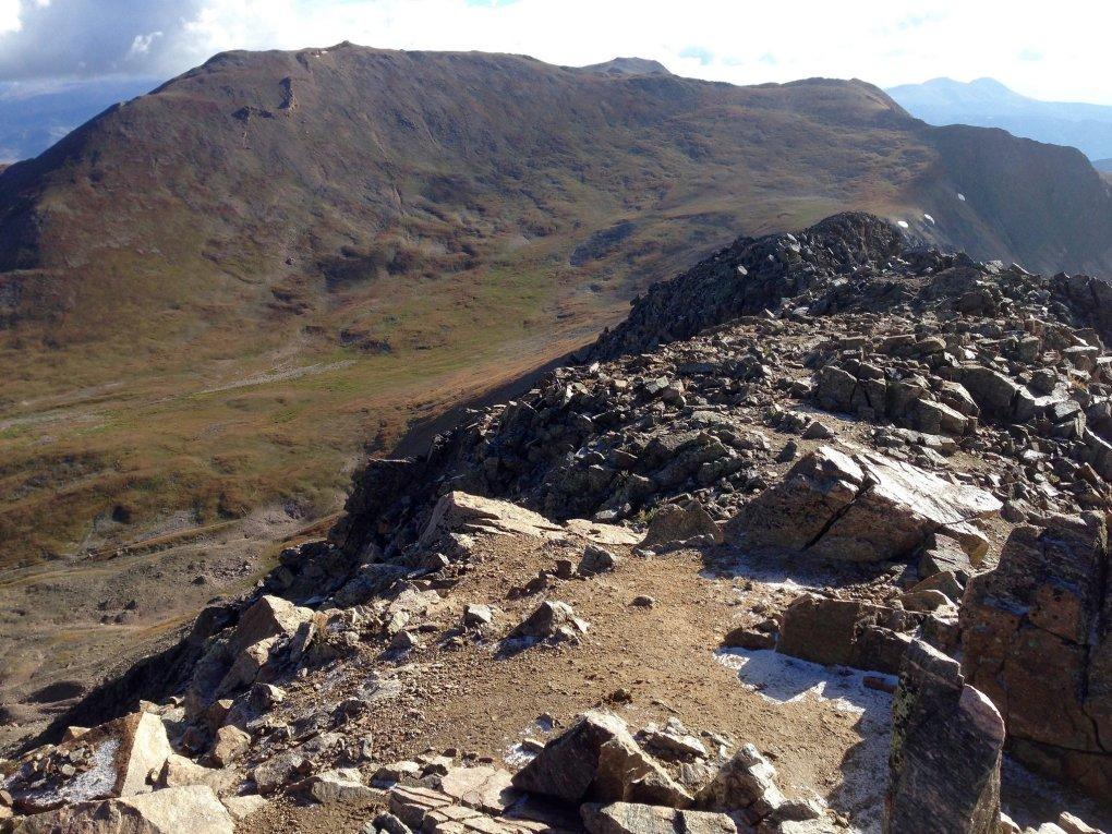 Summit of Mount Belford Colorado