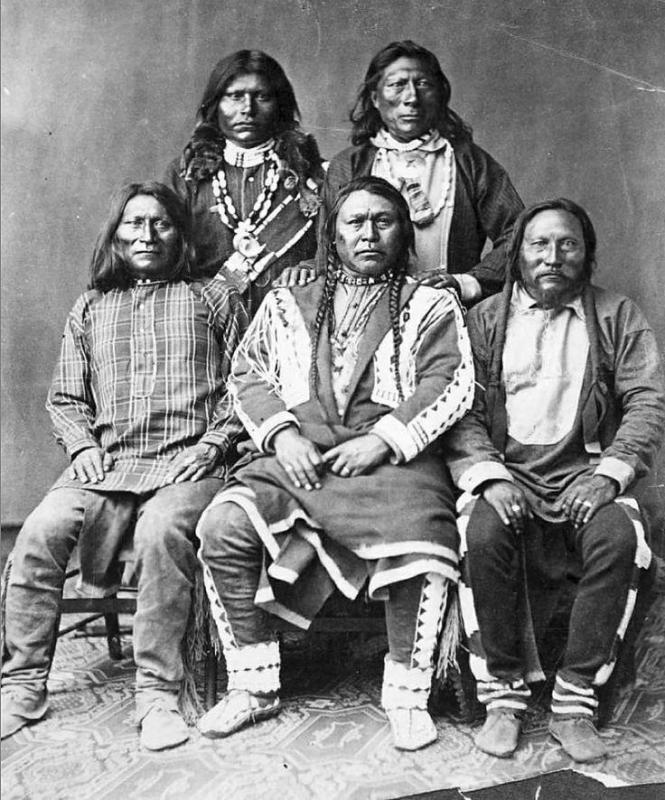 Ute Indian Leaders of Colroado