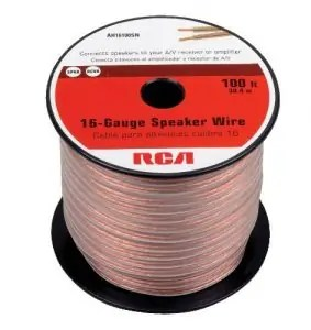 Selecting the best speaker cable based on your requirements rca ah16100sr 100 ft 16 gauge speaker wire greentooth Images