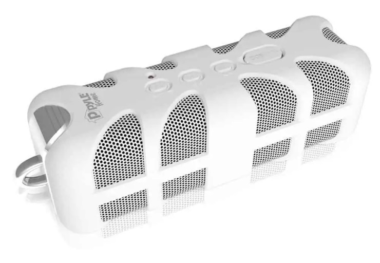 Pyle PWPBT60OR Sound Box Splash White