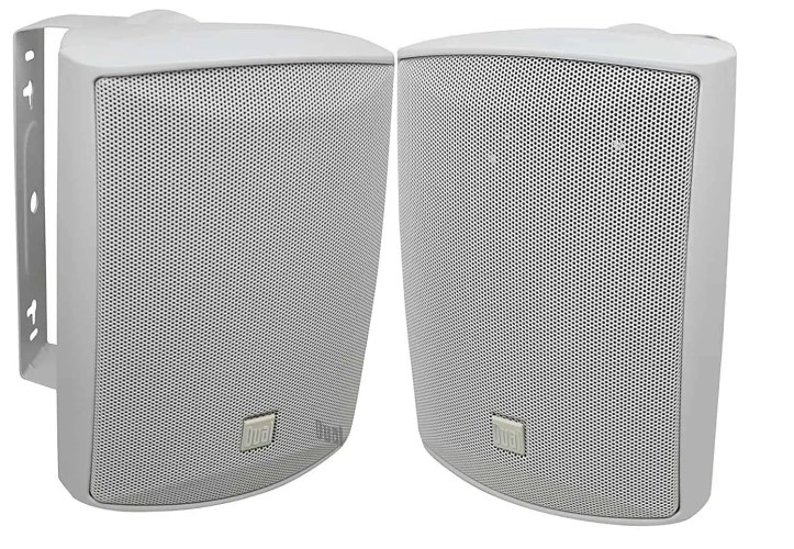 Dual LU53PW 125 Watt 3-way Outdoor Speakers in White