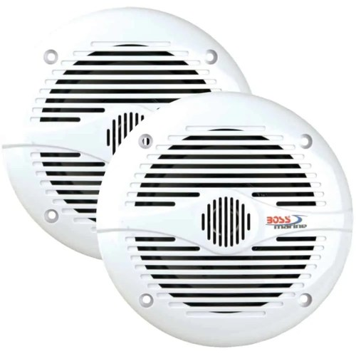 "BOSS AUDIO MR50W Marine 5.25"" 2-way 150-watt Full Range Speakers"