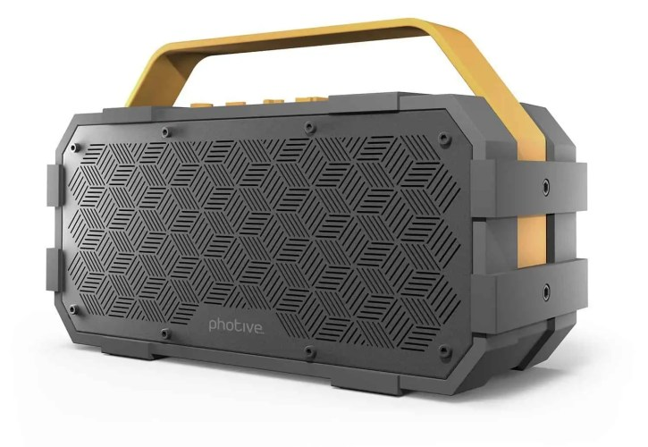 Photive M90 Portable Waterproof Bluetooth Speaker