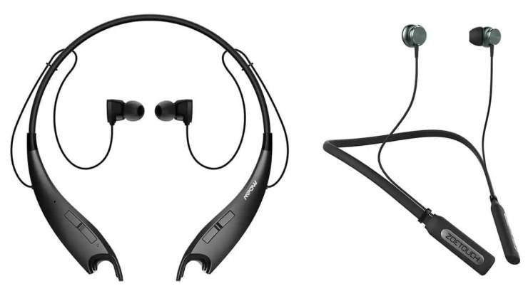 Mpow Jaws Neckband 4.1 Noise Cancelling Bluetooth Earbuds