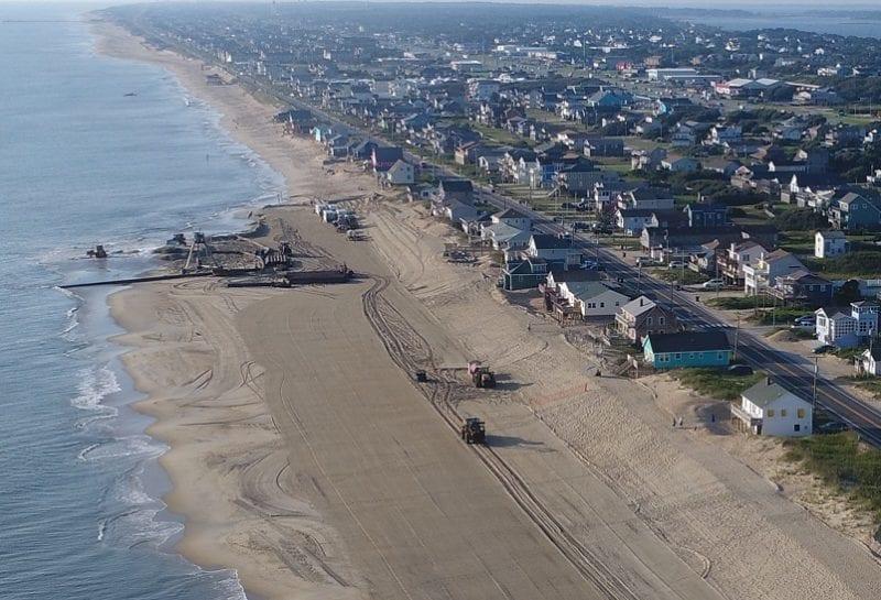 Dare County reveals beach nourishment bids