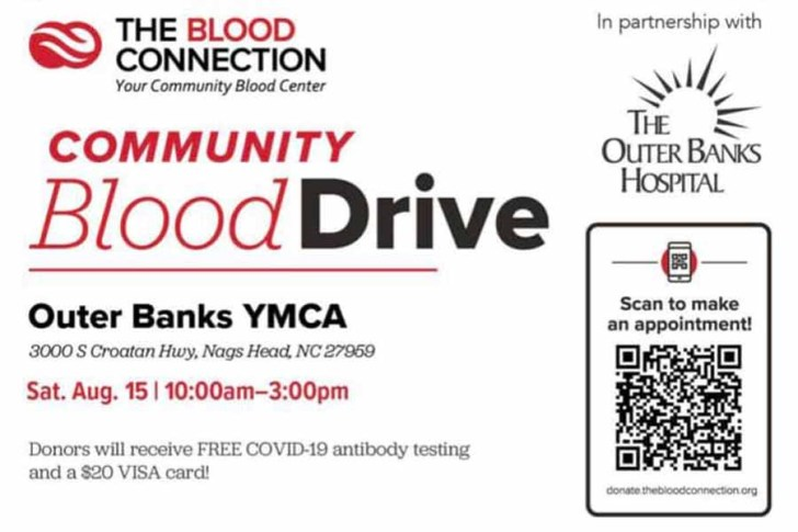 August 15: Community Blood Drive