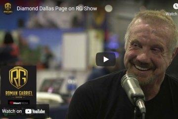 Former WWE World Wrestling Champion Diamond Dallas Page on the Roman Gabriel Show