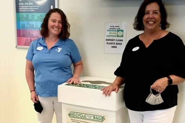 OBX Woman's Club collecting plastic bags