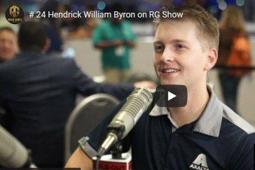 William Byron # 24 Hendrick NASCAR Driver on the Roman Gabriel Show