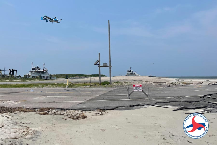 outerbanksvoice.com - Outer Banks Voice - Drone Delivers Supplies to Ocracoke in Trial Flight