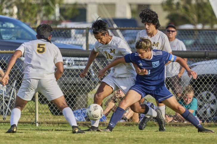 First Flight and Manteo soccer battle to 1-1 tie