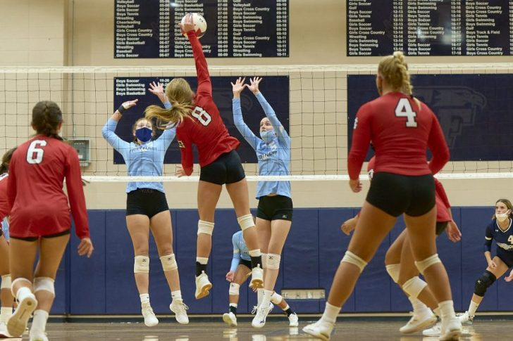 First Flight Lady Nighthawks drop volleyball match to Cape Hatteras 1-3
