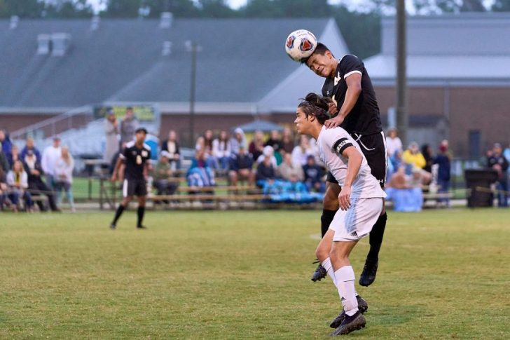 First Flight soccer wins match with Manteo 5-1