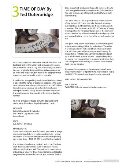 vanishmagazine22Outerbridge product reviews