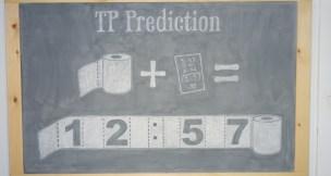 TP PREDICTION CHALKBOARD