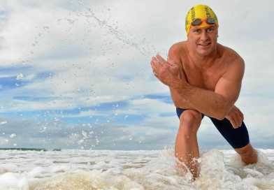 AUSTRALIAN EXTREME SWIMMER ATTEMPTS TO BE THE FIRST PERSON TO SWIM THE ENGLISH CHANNEL IN WINTER THIS DECEMBER