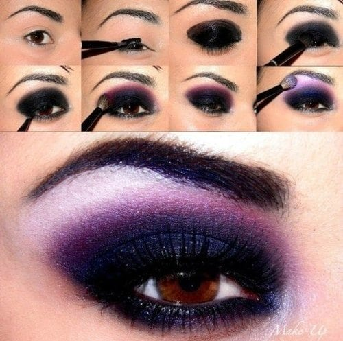 easy smokey eye effect hairsstylesco