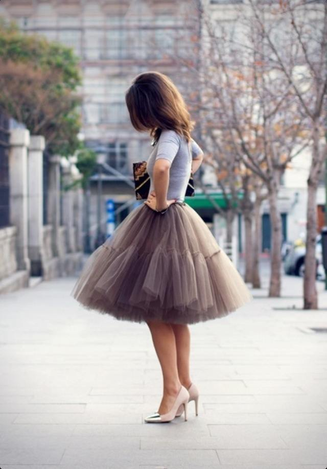 Tulle Skirt Outfit Ideas