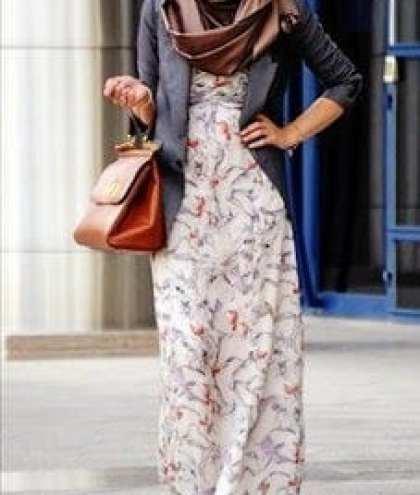 Hijab-office-wear Hijab office Wear - 12 Ideas to Wear Hijab at Work Elegantly