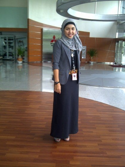 Hijab-outfit-for-work Hijab office Wear - 12 Ideas to Wear Hijab at Work Elegantly