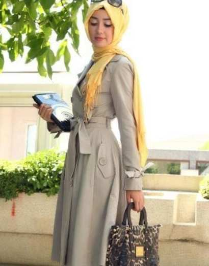 How-to-dress-up-in-hijab-for-work Hijab office Wear - 12 Ideas to Wear Hijab at Work Elegantly