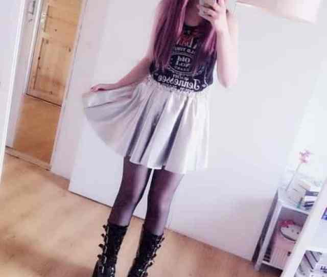 Cute Goth Style Outfit Ideas 3