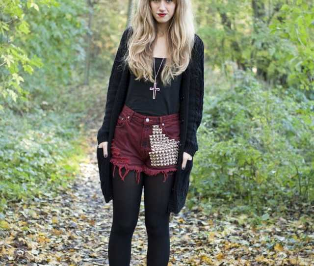 Cute Outfits To Wear With Platform Boots 6
