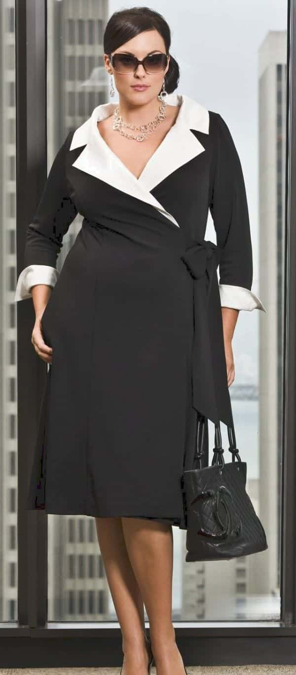 15 Fashion Tips For Plus Size Women Over 50 - Outfit Ideas
