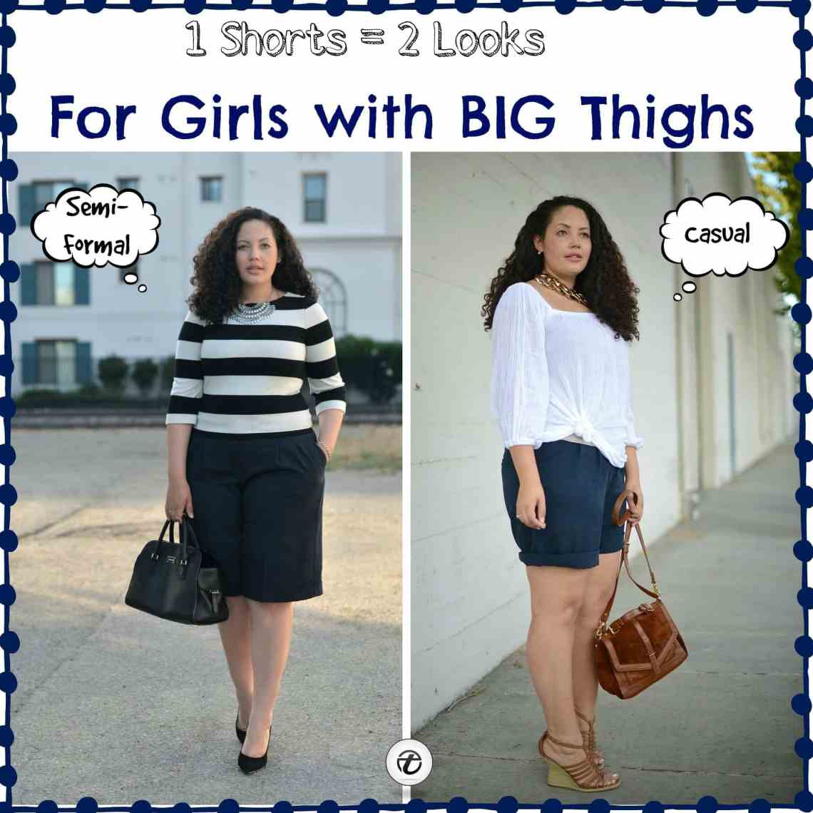 19 Outfit Ideas for Women with Big Thighs for Chic Look