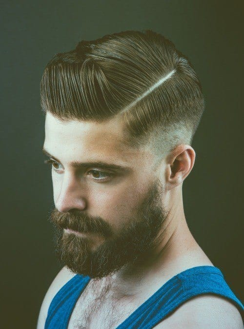 Hairstyles With Beards 20 Best Haircuts That Go With Beard