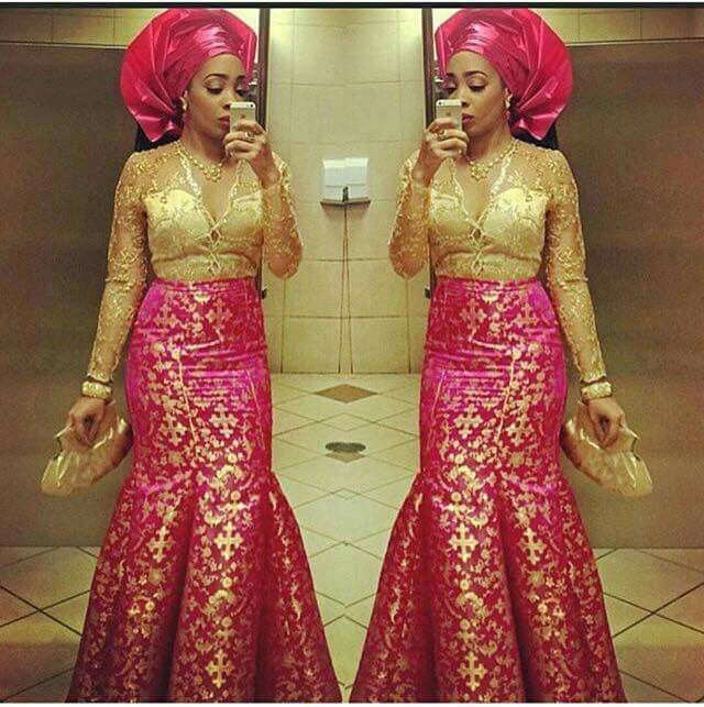Nigeria Kaba And Slit Styles