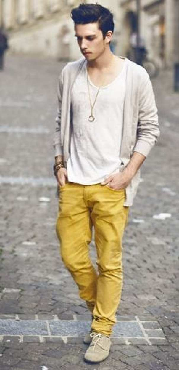 men's yellow pants outfits35 best ways to wear yellow pants