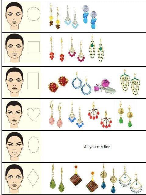 19 Cute Ways To Wear Earrings With Long Hairs