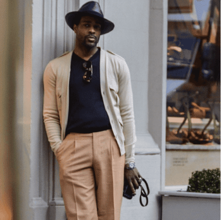sticking with the same tones is a must for 2018 summer fashion essentials for men!