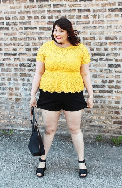How To Wear Shorts For Plus Size 20 Plus Size Shorts Outfits