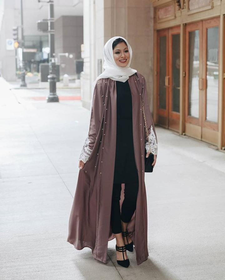 Modern Abaya Styles 2019 50 Best Abaya Designs On Instagram