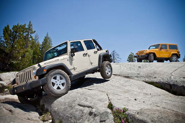 Auto: Two Doors Or Four? The Jeep Wrangler Appeals To Choice