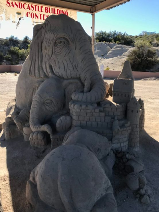 Sand Castles Elephant Butte Lake State Park