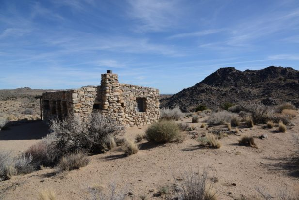 The Rock House at Rock Spring - Mojave Desert