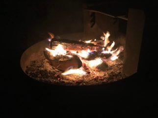Ahhh finally had a campfire! Mojave