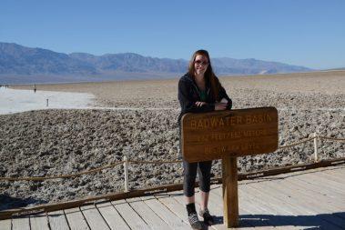 Megan is below sea level!
